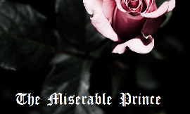 "New Story Idea ""The Miserable Prince"" - need an honest opinion"
