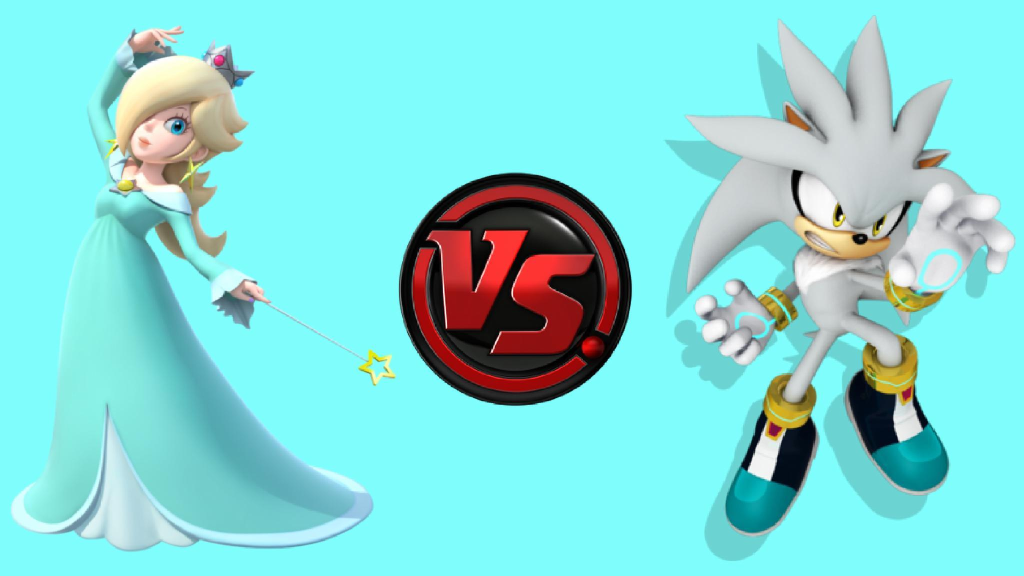 Rosalina vs Silver the Hedgehog