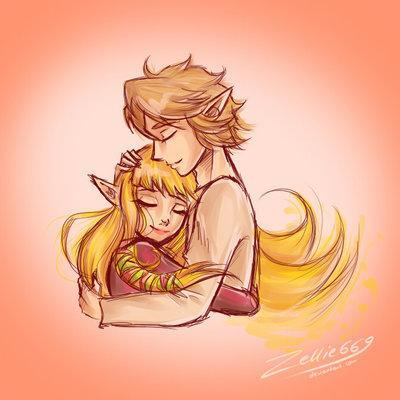 Butterfly Kisses [Zelink Friendship]