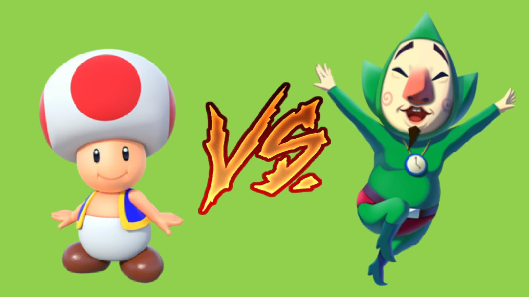 Toad VS Tingle