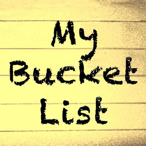 My bucket list!