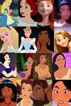 The Disney Princesses