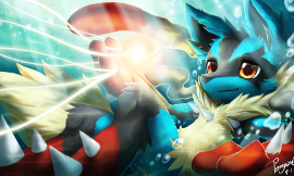 The Journey of Lieutenant Lucario: A Pokemon Story