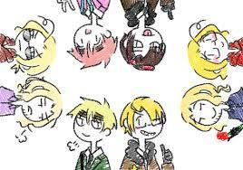 Another one:A hetalia 2p fanfic
