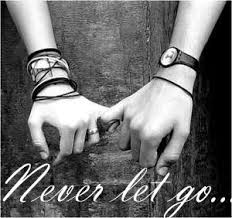 Never let go...