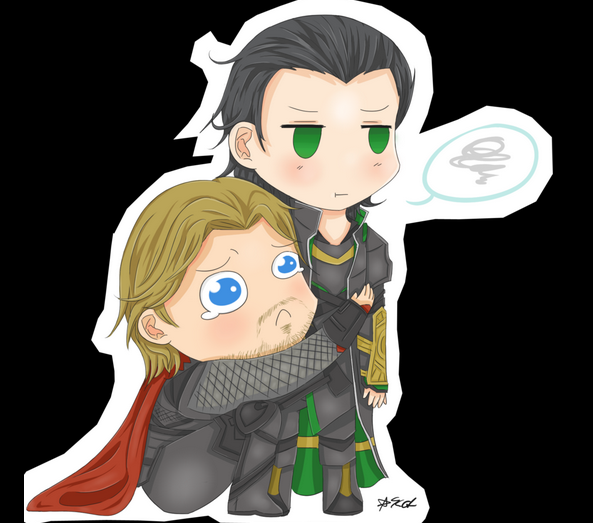 Pizza war (Thor and Loki fan fiction)