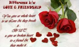 Is It Love Or A Good Friendship