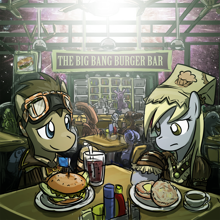 Doctor Hooves x Derpy
