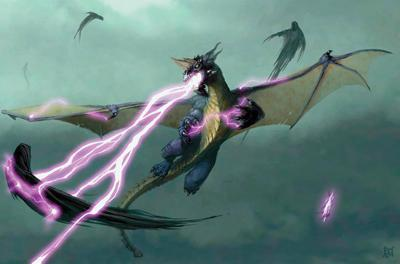 Lightning Breathing Dragon
