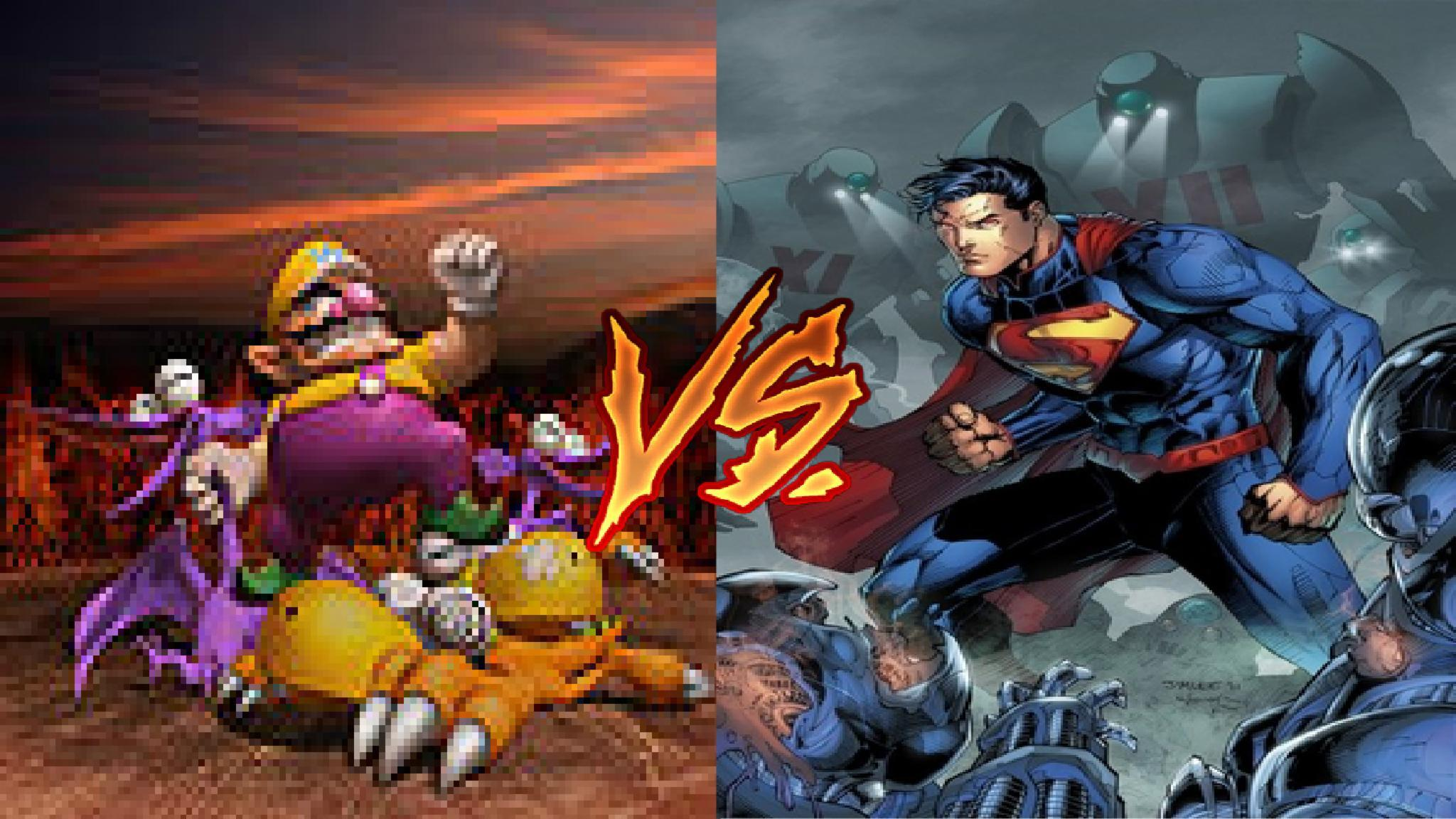 Wario VS Superman