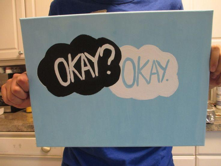 Make the tears stop coming! - The Fault in our Stars