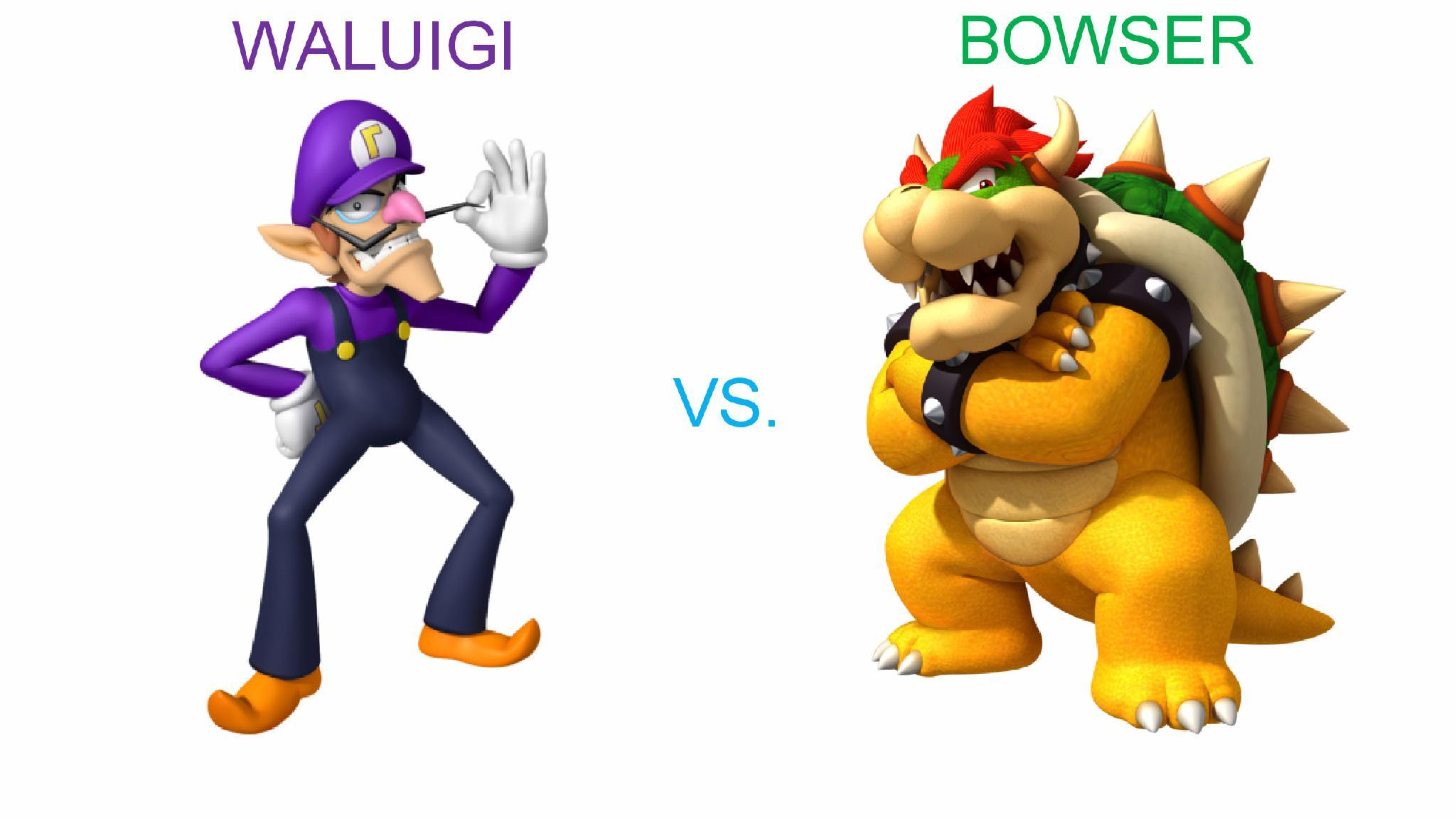Waluigi vs. Bowser