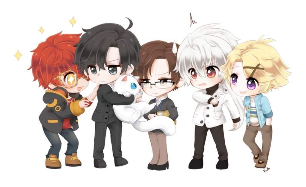 Mystic Messenger - X readers