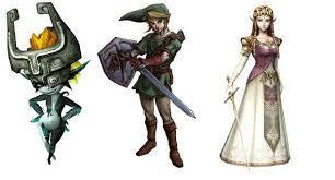 Zelda, Link, and Midna's journey.