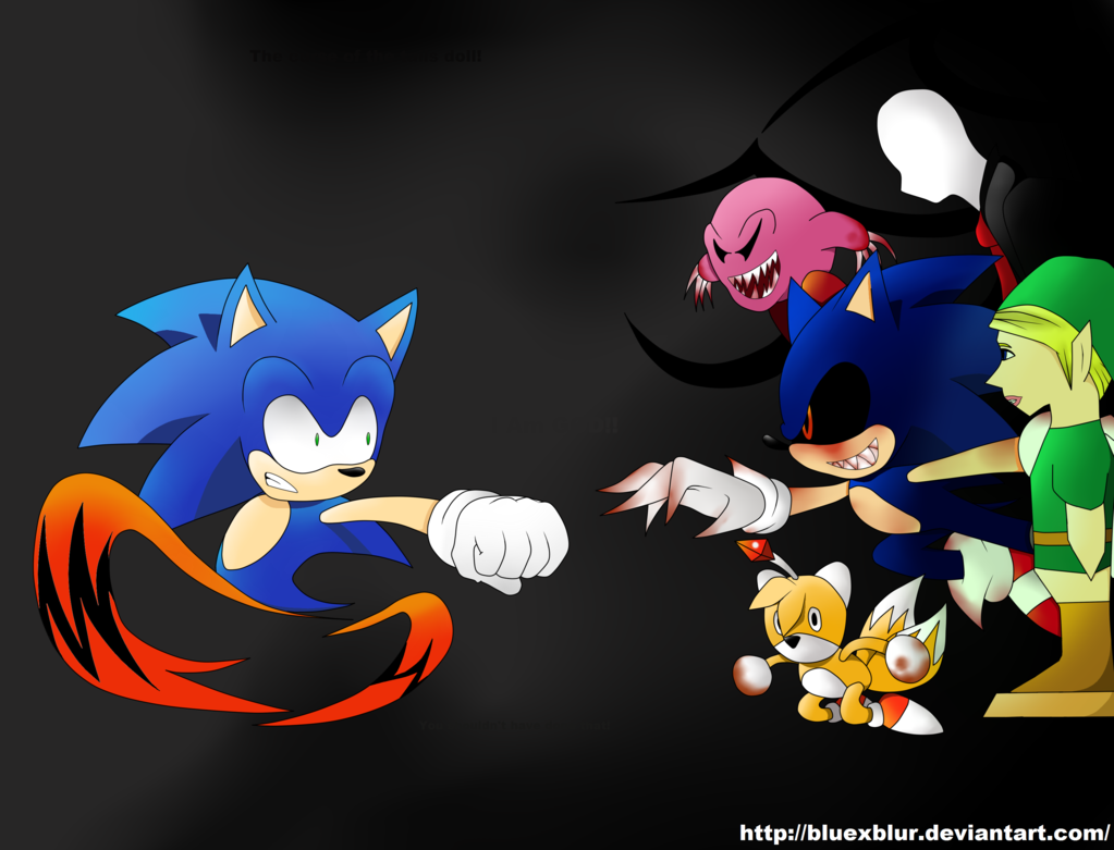 When Sonic and CP (Creepypasta) Collide