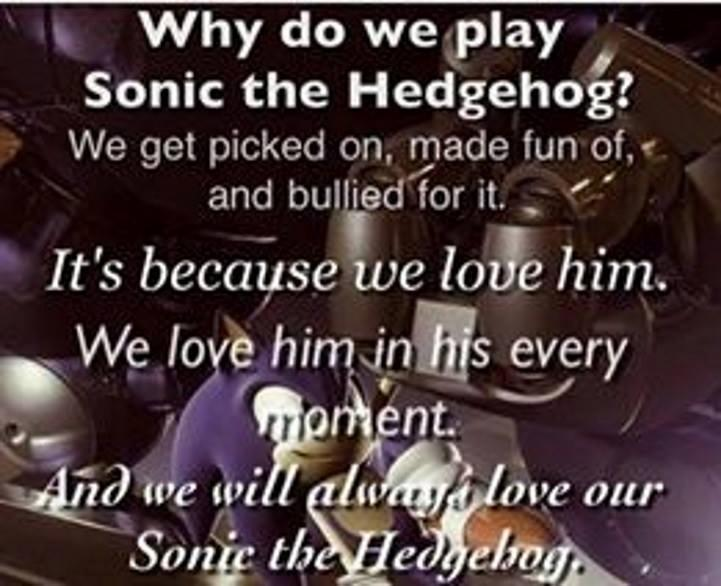 My opinions on things in Sonic.