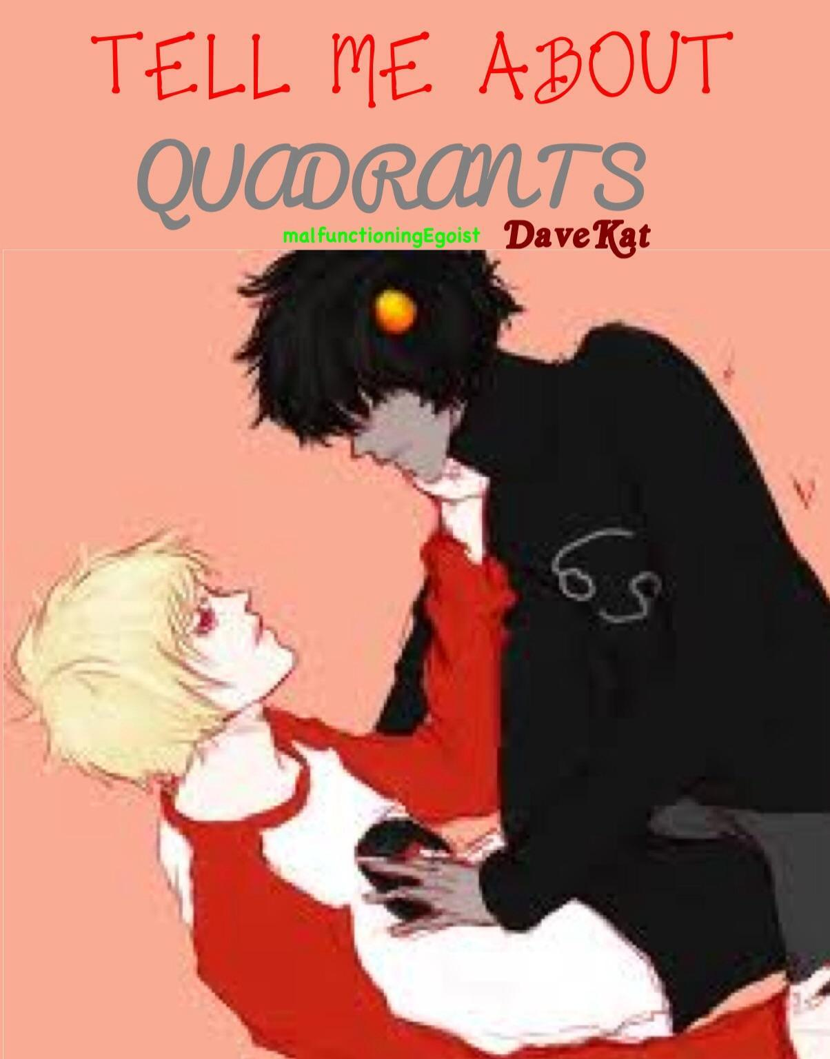 Tell me about Quadrants <Homestuck DaveKat Dave Strider Karkat Vantas>