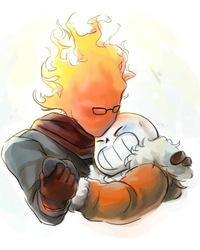 A Night to Remember Sans/Grillby