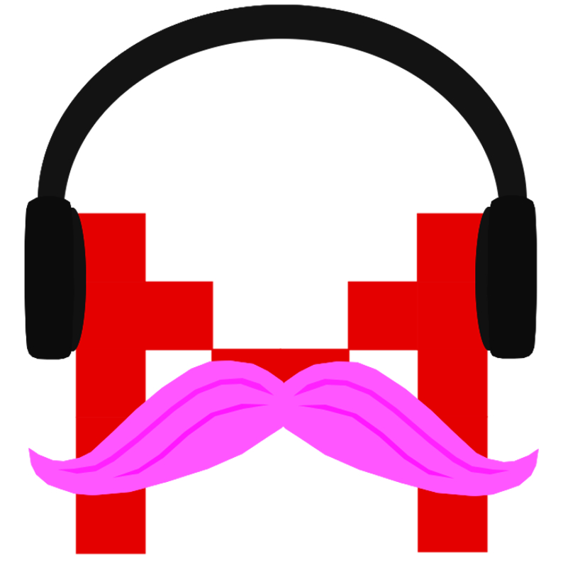 The pink stache. (I own nothing.)