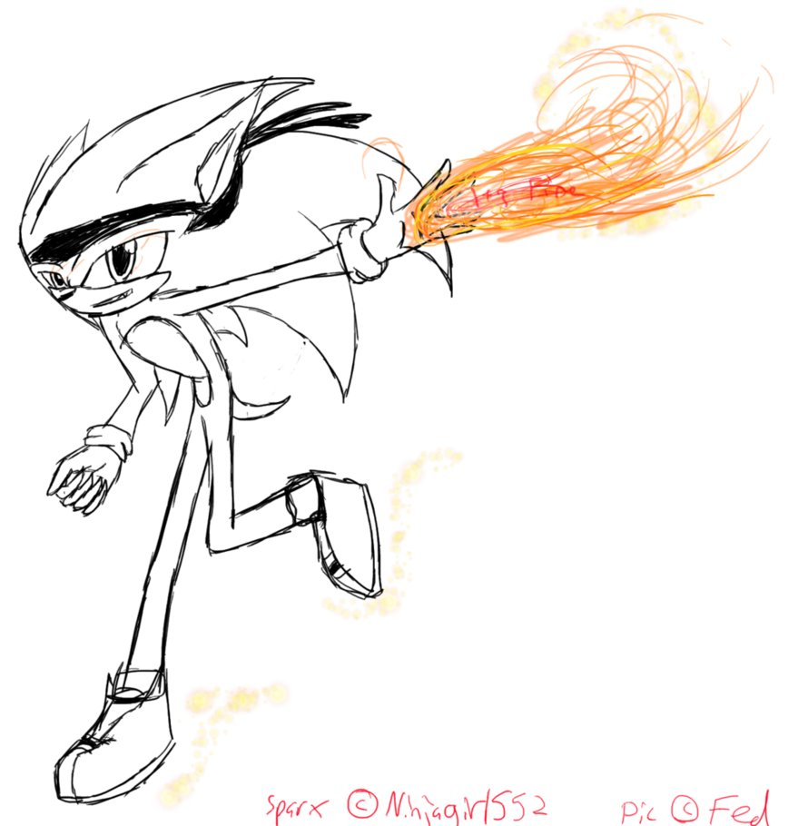 Sparx The Hedgehog