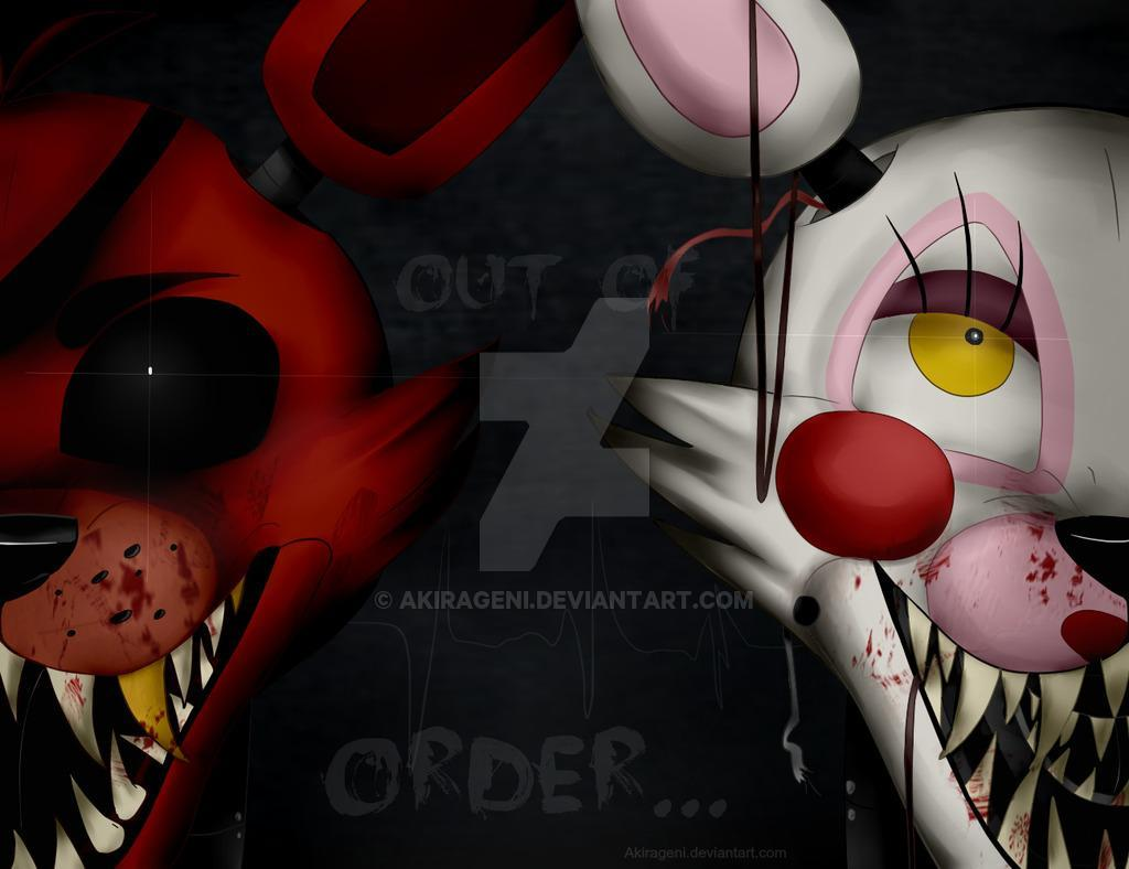 Old Foxy and The Mangle