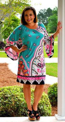 Bohemian Barbie Dress - Perfectly Priscilla Boutique