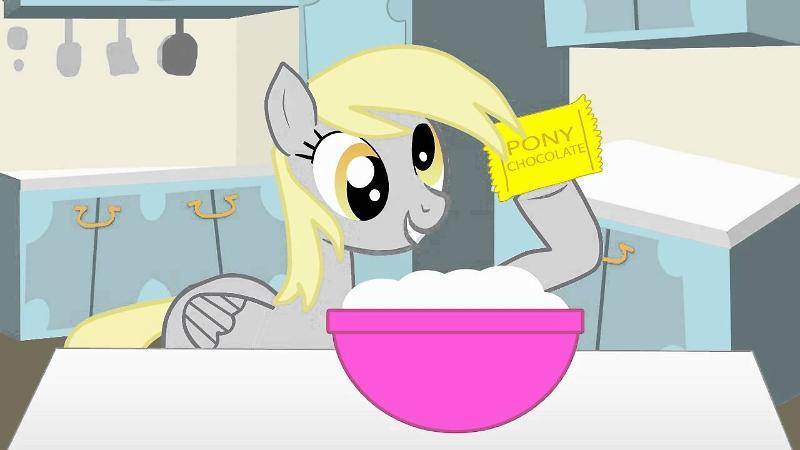 Derpy Hooves Makes Muffins!
