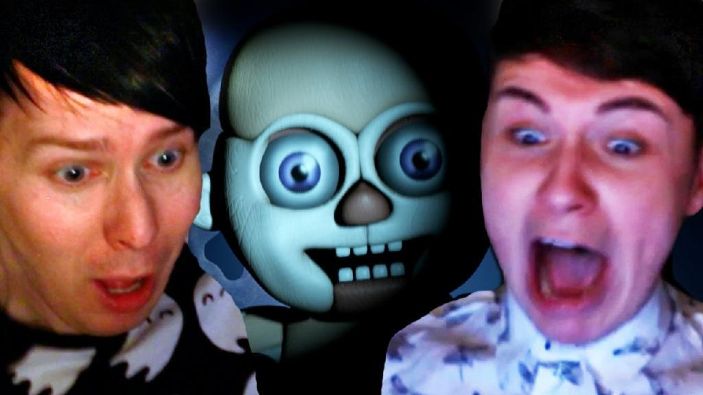 Dan and Phil Play FIVE NIGHTS AT FREDDY'S SISTER LOCATION