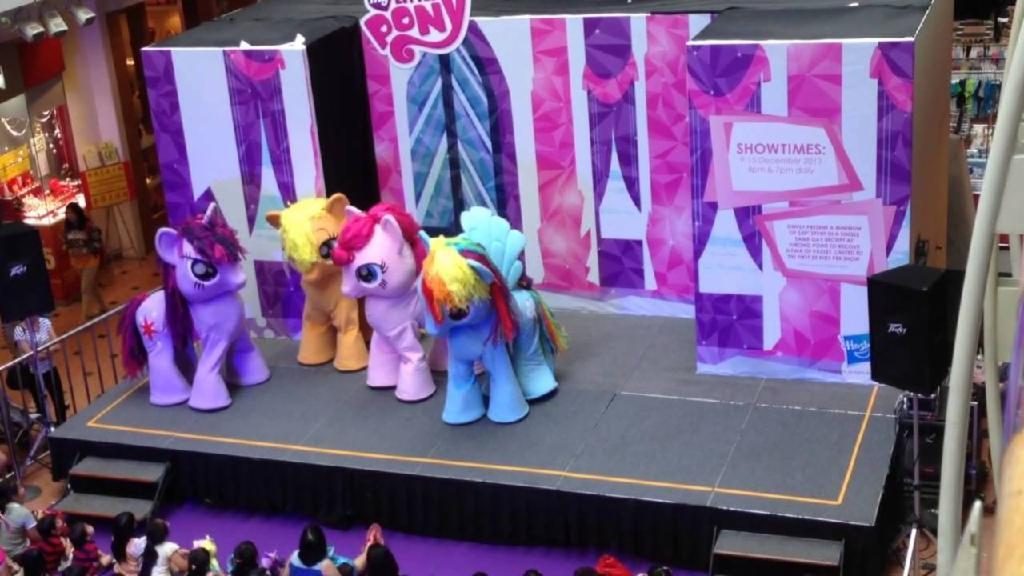 My Little Pony FiM Live in Singapore Jurong Point