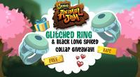 Animal Jam: First Glitched Ring & Black Long Collar Giveaway! (2016 OPEN)