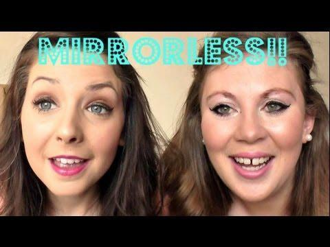 Mirrorless Makeup with Zoella | Sprinkle of Glitter