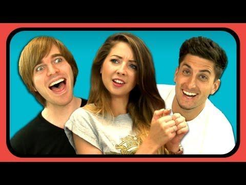 YOUTUBERS REACT TO MASS TEXT