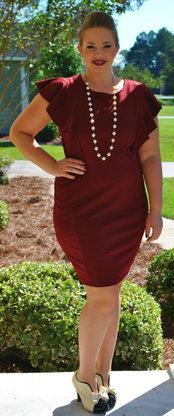 Ready for Revenge Dress - Wine - Perfectly Priscilla Boutique