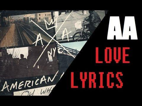 American Authors - Love - Lyrics