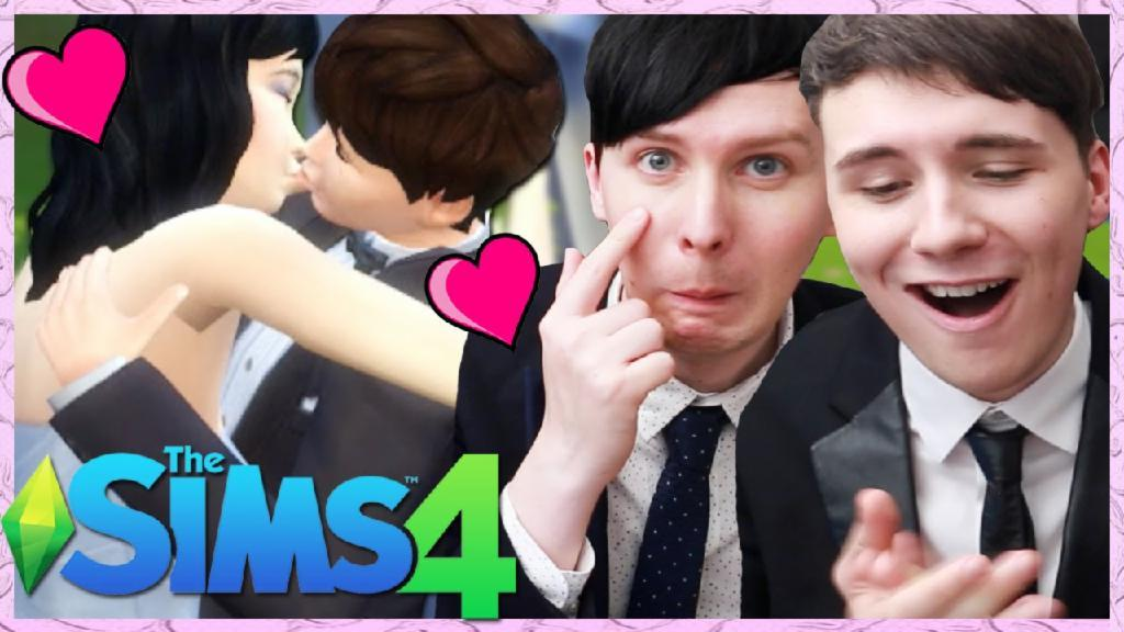 DIL'S WEDDING - Dan and Phil Play: Sims 4 #29