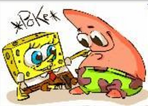 SpongeBob poking! (4)
