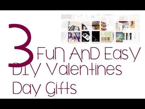 3 DIY Valentines Day Gifts | ADailyDoseOfEverything