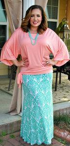 Women Plus Size Skirts, Elegant Maxi & Pencil Skirts for Plus Size Women - Perfectly Priscilla Boutique