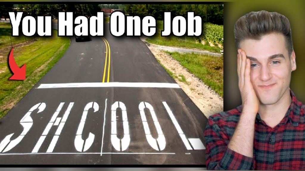 You Had One Job (Funny Fails)