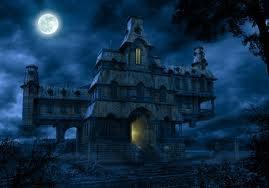 Let's go to a haunted house? My friend told me o,O what should I do?