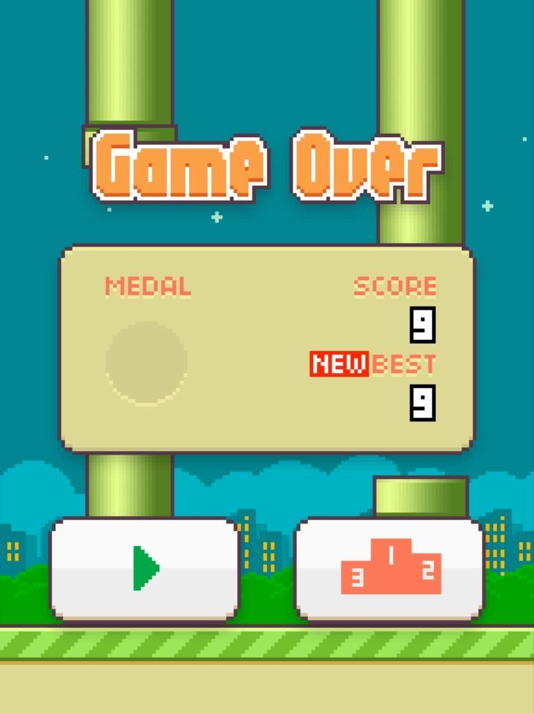 What is your Flappy Bird high score?