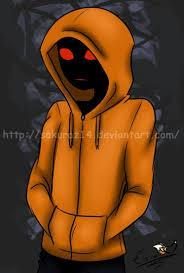 What weapon does Hoodie the Creepypasta use?