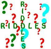 try my riddle it's really fun!!!!