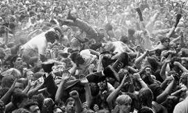 Have you've ever gone into a mosh pit, if so how was it like for you?