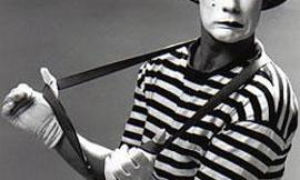 If a mime is arrested, do they tell him he has a right to talk?