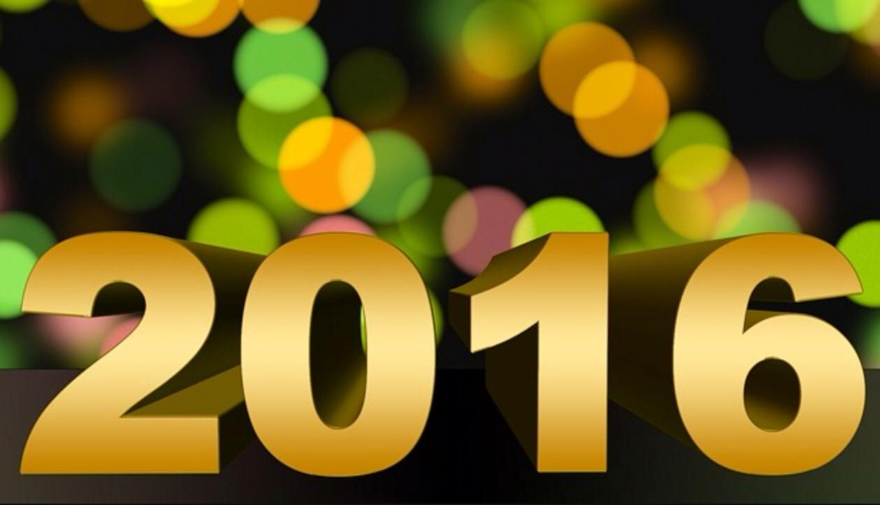 What are you looking forward to in 2016?