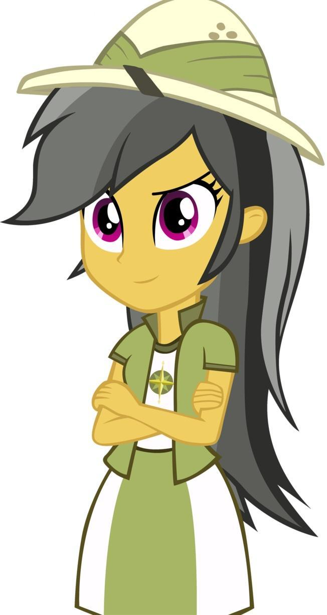 Daring Do in Equestria Girls!