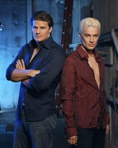 Okay, okay, calm down fangirls...so...Spike or Angel?