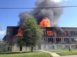 how would you react to your school burning down?