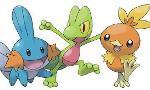What's the difficulty level of generation 3 starters in the games?